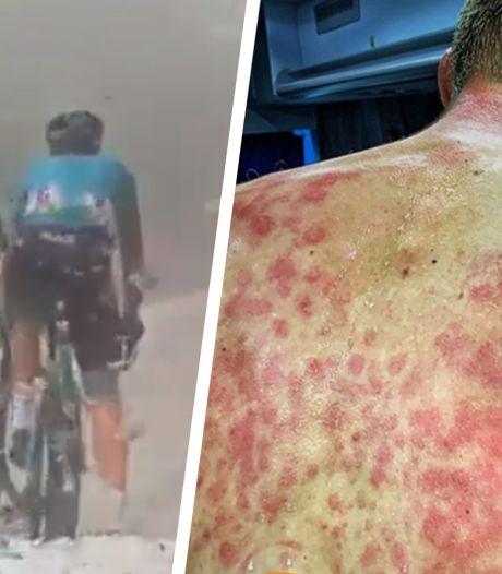 Hevige hagelbuien teisteren renners op slotklim in Dauphiné
