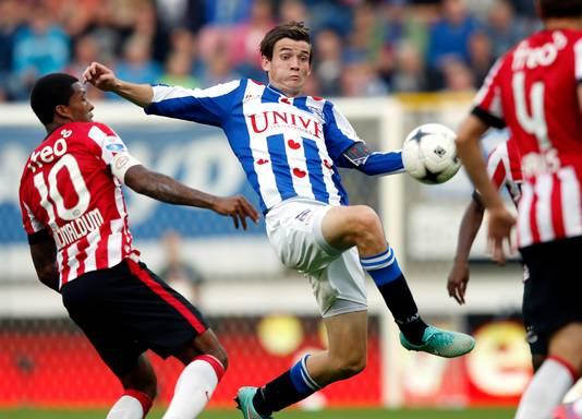 Marten de Roon als speler van Heerenveen.