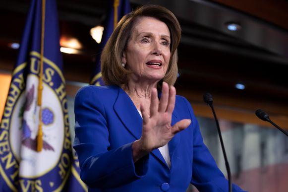 Nancy Pelosi, Democratische voorzitster van het Huis van Afgevaardigden.