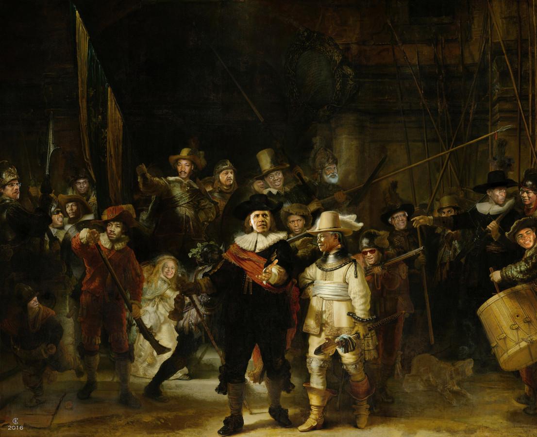 Karel Cornelis Korfker: Nachtwacht Anders