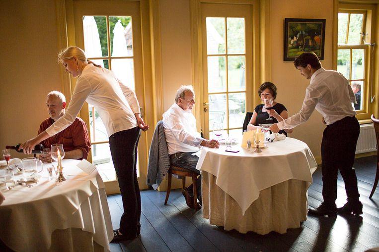 Restaurant Piloersemaborg in Den Ham. Beeld Julias Schrank.