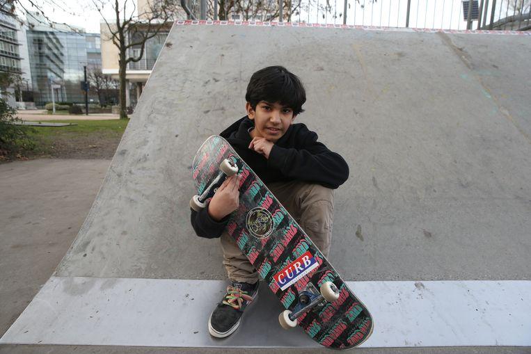 Damjan Ramadani (13) uit Baarle.