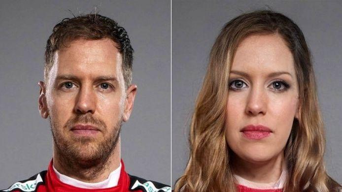 Sebastien Vettel.
