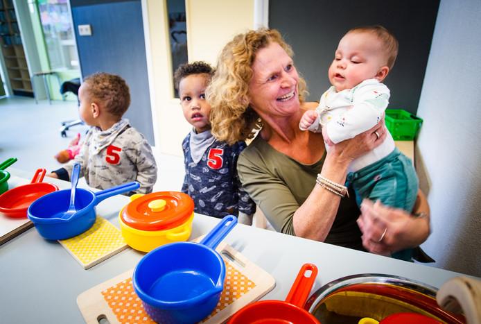 Volgens Cora Labree zorgt het IKC-concept voor een toeloop van kinderen.