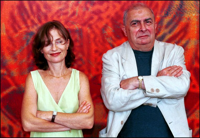 Isabelle Huppert and Claude Chabrol. Beeld Eric VANDEVILLE / Getty