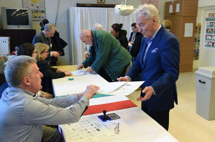 De stembureau's zijn open in Hongarije.