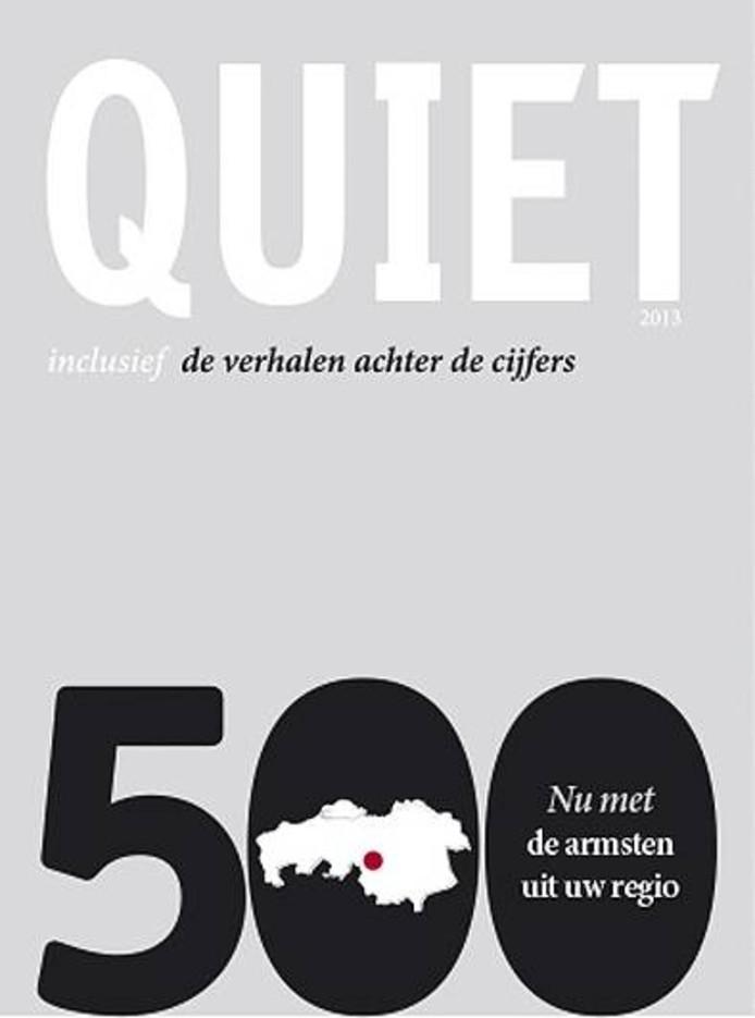 De cover van de Tilburgse tegenhanger van de Quote 500.