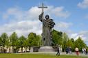 Monument van Prince Vladimir in Moskou.