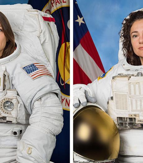 Eerste ruimtewandeling met alleen vrouwen een feit