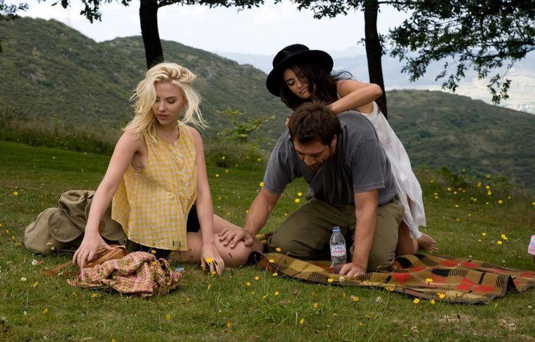 Een still uit de zinderende film Vicky Cristina Barcelona Beeld AG Film