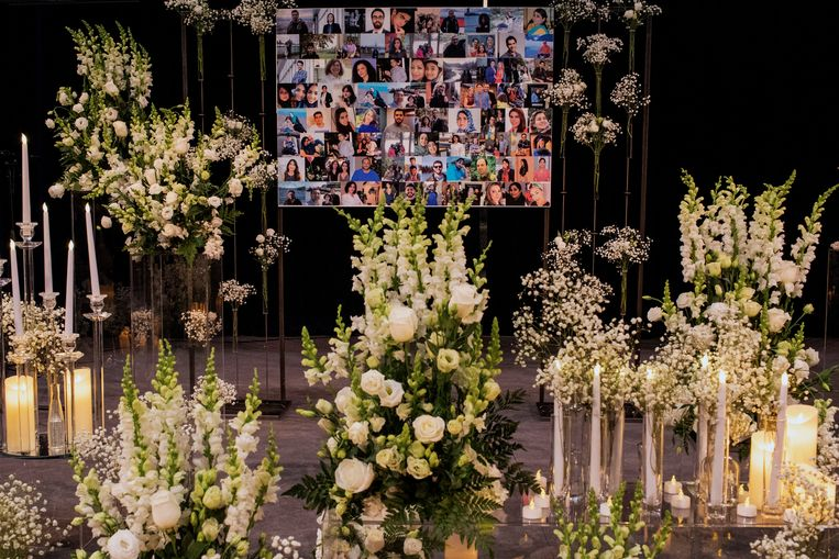In Toronto worden de slachtoffers herdacht. Beeld REUTERS