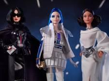 Star Wars krijgt nu ook eigen barbiepoppen