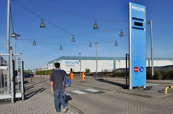 De fabriek van Philips in Turnhout.
