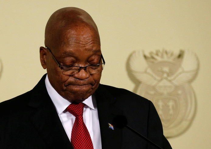 Jacob Zuma stapt op als president van Zuid-Afrika