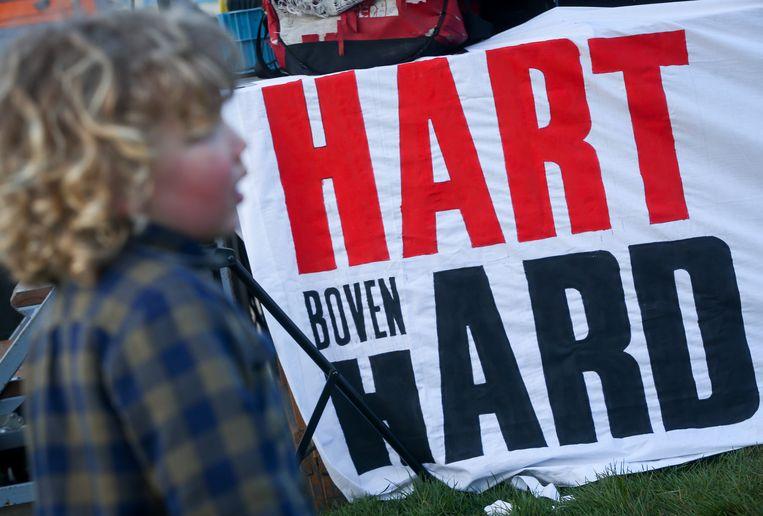Archiefbeeld Hart boven Hard