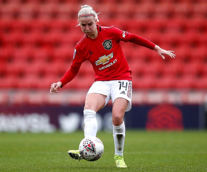 Jackie Groenen maakte vorig jaar een transfer naar Manchester United.