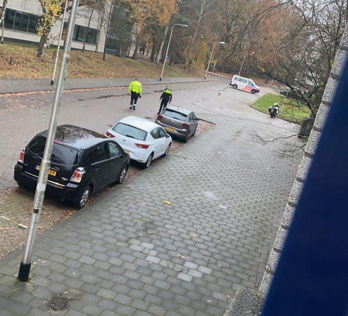 Deel van de campus in Tilburg afgezet vanwege mogelijk schietincident