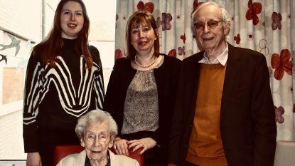 Angèle Ogiers is met haar 106,5 jaar de nieuwe oudste inwoner van Gent
