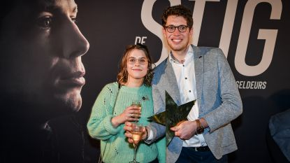Stig Broeckx als vedette onthaald op première van 'zijn' film