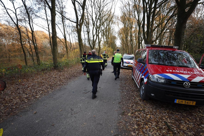Politie en brandweer rukten uit