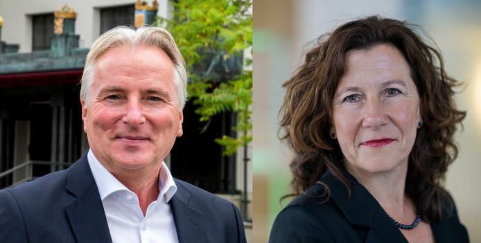 Hans Smolders en Marcelle Hendrickx