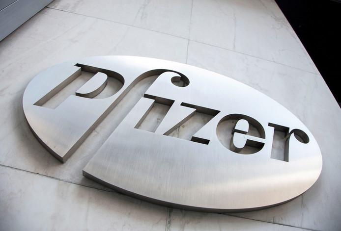 Logo van Pfizer.
