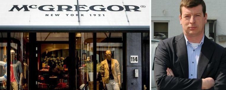 Andy Verbauwhede (foto uit 2010) kocht zeven McGregor-winkels in Oost- en West-Vlaanderen.