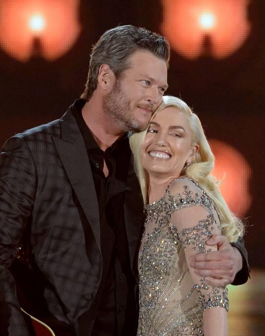 Blake Shelton en Gwen Stefani.