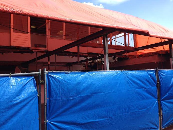 Verbouwing winkelpand in Passage Uden.