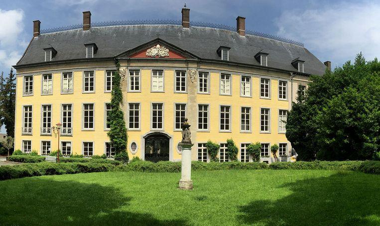 Het Abtenhuis ligt in het Abdijpark.