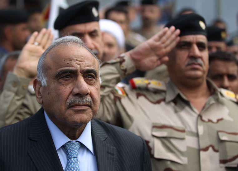 Premier Adel Abdul Mahdi.