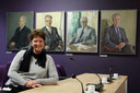 Olga van de Laar werkte jarenlang op het stadskantoor in Roosendaal.