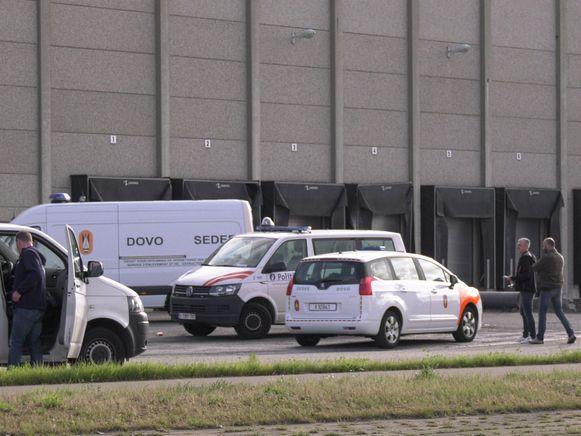 DOVO kwam deze ochtend ter plaatse voor de granaat op de Noorderlaan.