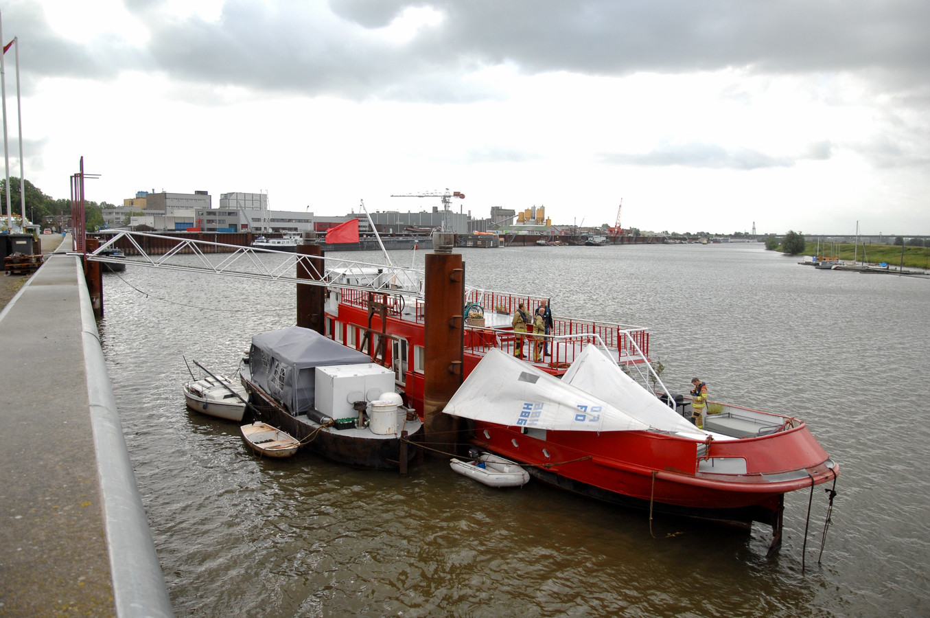 In hun boot Sealiberty runnen Marloes van de Pol en Jeroen Spaander een bed and breakfast.