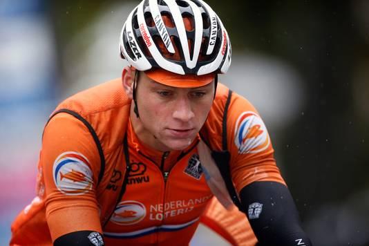 Van der Poel is leeg na het WK wielrennen in Yorkshire.