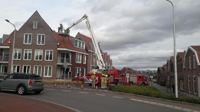 Brandweer in Hulst.