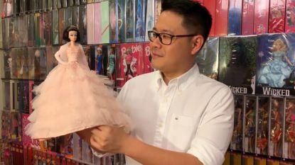 VIDEO. Deze Barbie-boy heeft meer dan 12.000 poppen