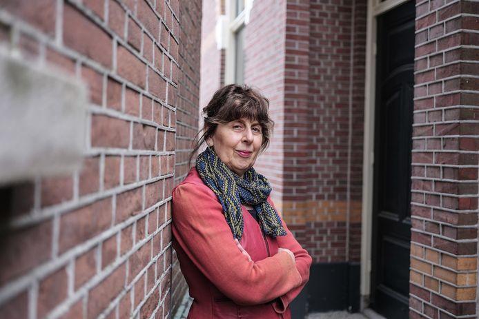 Mirjam Schwartz, schrijfster van het boek  'Ik hoop dat alles weer gewoon wordt'.