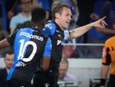 Club Brugge speelt met Charleroi