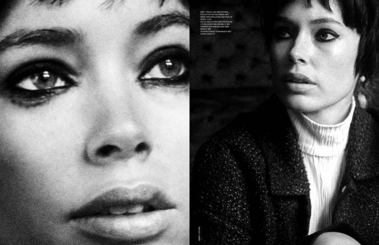 Doutzen Kroes voor Vogue in 2017. Beeld Mario Testino