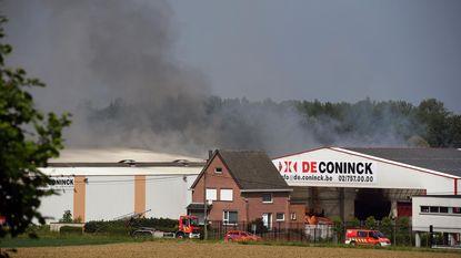 Zware brand bij afvalsorteerbedrijf