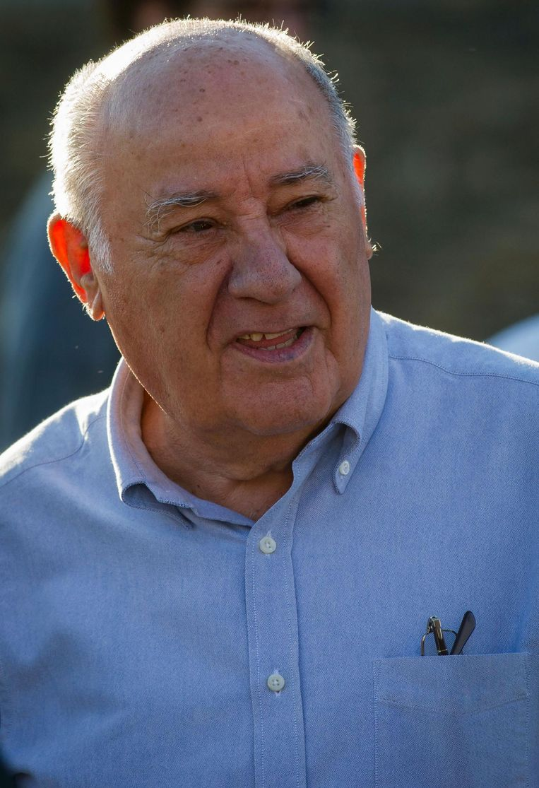 Amancio Ortega Beeld afp