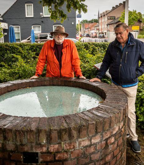 Glasplaat van waterput in Helmondse Apostelwijk weer aan diggelen geslagen; einde museumpje