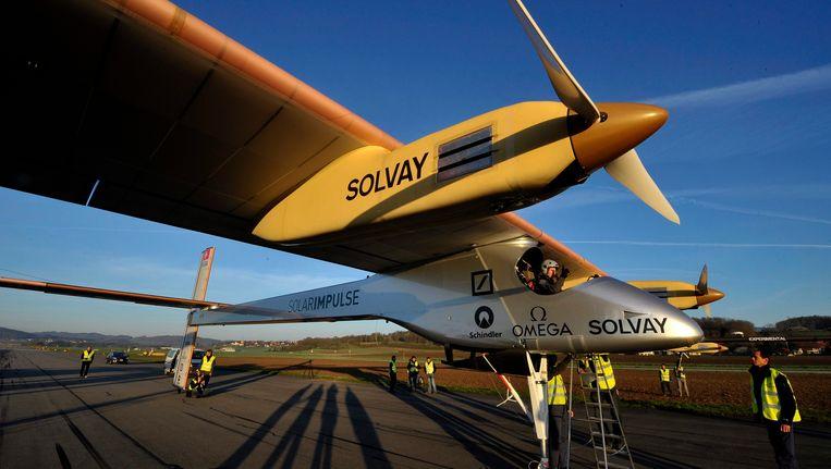 De Solar Impulse Beeld EPA