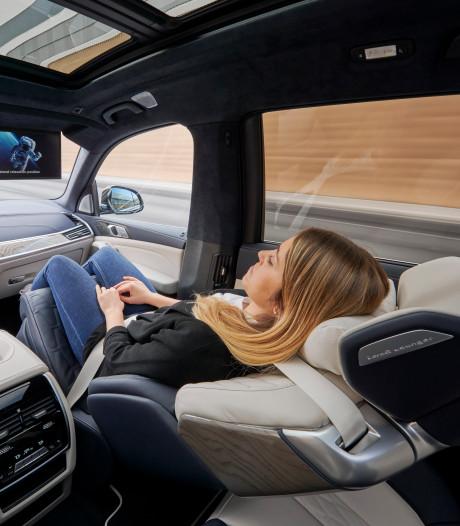 Autostoel wordt bed: eind dit jaar kan het in BMW X7