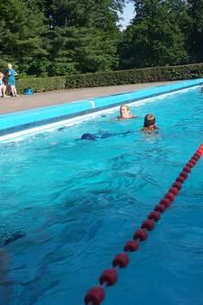 Zonnige dag kan matige zomer niet goedmaken in openluchtbaden Meierij