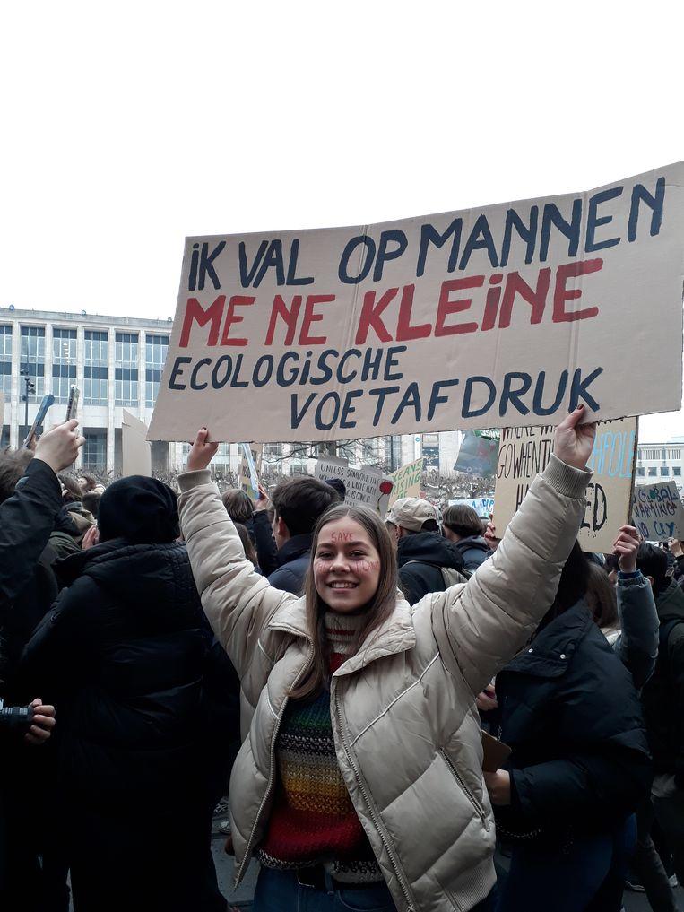 Johanna Verstraelen (15) Beeld Marijke de Vries