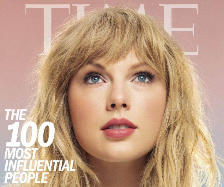 Taylor Swift op de cover van 'Time'.