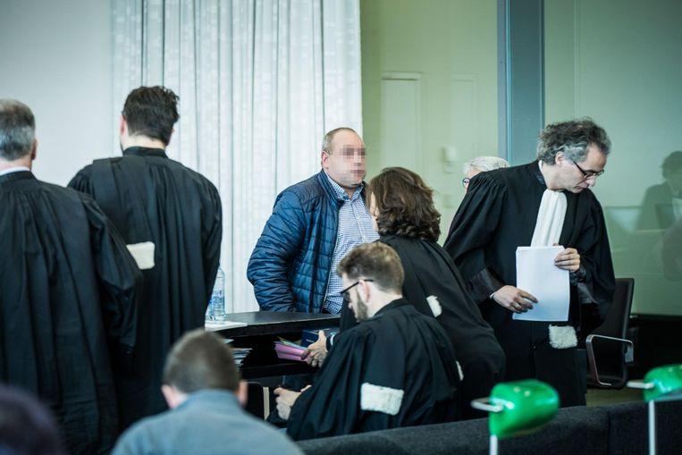 De Izegemse zakenman kwam gisteren naar de rechtbank in Gent.