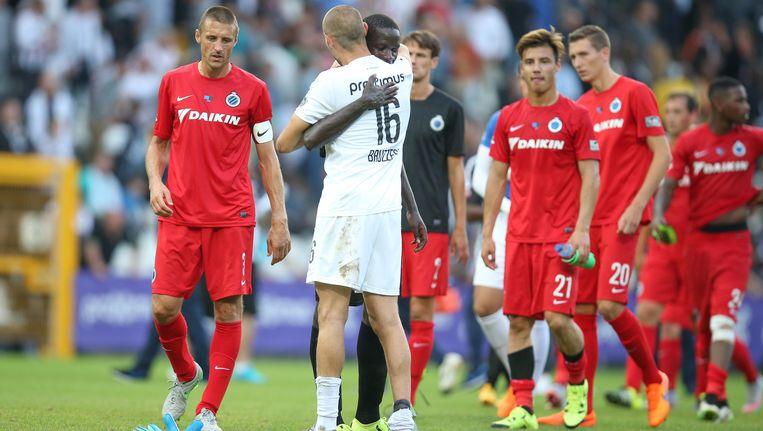 Club kwam op de vorige speeldag niet verder dan een 0-0 bij Charleroi